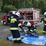 Strażacki pokaz ratownictwa technicznego i medycznego