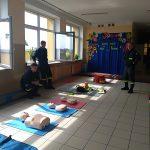 Strażacki pokaz dla dzieci