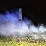 Pożar w Lubowierzu