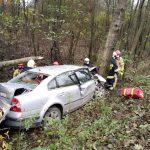 Wypadek w Lejnie gmina Sosnowica
