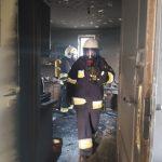 Pożar w Łomnicy